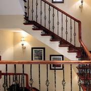 别墅大气楼梯展示