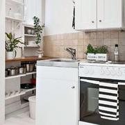 公寓简约小厨房欣赏