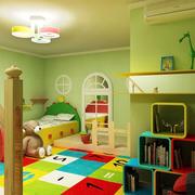 甜蜜温馨的儿童房