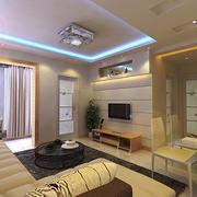 现代简约公寓客厅展示
