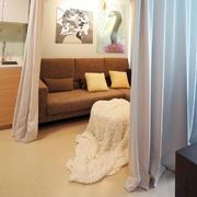 公寓客厅沙发背景墙