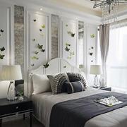 两室一厅卧室背景墙