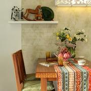 家居餐厅餐桌椅摆放