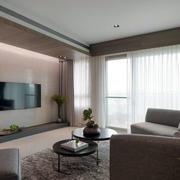 客厅空间电视背景墙设计