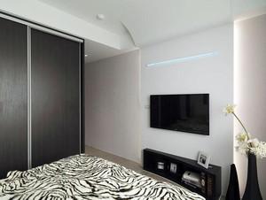 卧室内电视布置