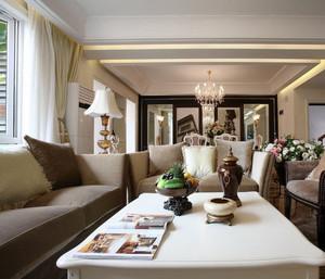 跃层唯美风格客厅装修效果图