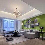 两室两厅客厅背景墙设计