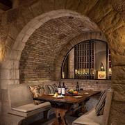 欧式古典酒吧餐桌椅