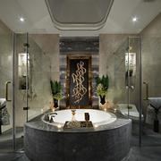 豪华别墅浴室展示