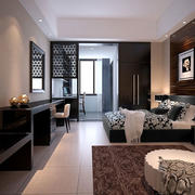公寓黑色组合电视柜