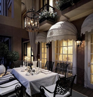 海龙宫一般的法式别墅装修设计效果图鉴赏