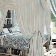 优美的公主卧室床展示