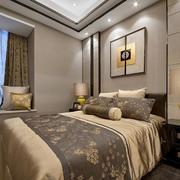 卧室简约新中式设计