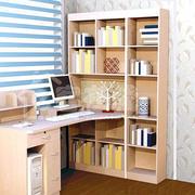 书房书架电脑桌