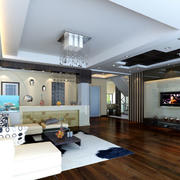 家装客厅简约设计