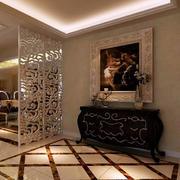 公寓镂空玄关设计