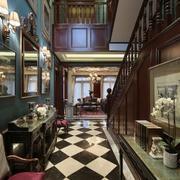 别墅客厅走廊展示