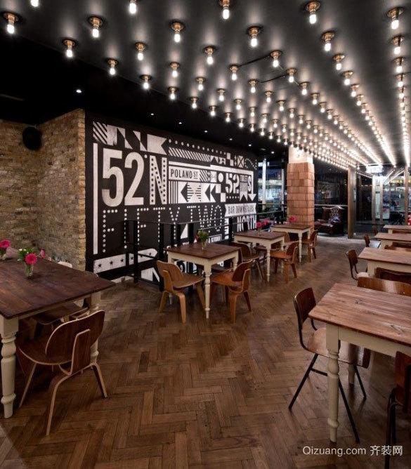 时尚小资古典酒吧装修设计效果图