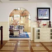 别墅拱形门展示