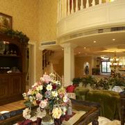 复式楼别墅客厅