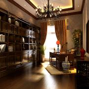 家居中式书房展示