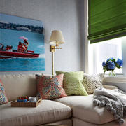 客厅空间沙发布置