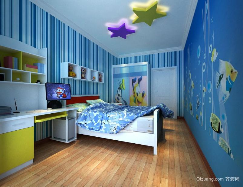 孩子健康成长儿童房装修效果图