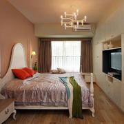 婚房简欧卧室图
