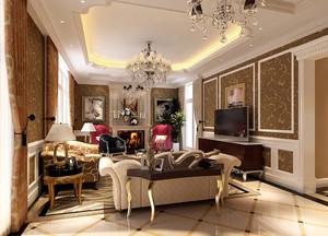 家居客厅简欧装饰