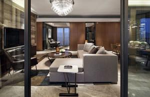 客厅玻璃隔断欣赏