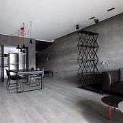 房屋灰白地板展示
