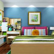 彩色卧室欣赏