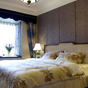 别墅温馨的卧室图