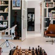 公寓书房书柜设计