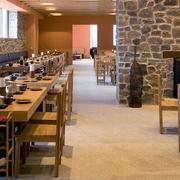 酒店自助餐厅桌椅图
