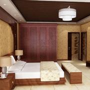 中式卧室图片欣赏