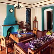 家居客厅美式设计