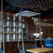 餐厅酒柜展示