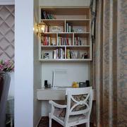 阳台书房小书架