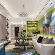 宜家舒适客厅装饰