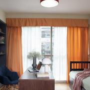 婚房客厅窗帘展示