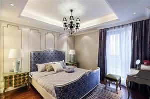 浓厚法式风情90平米家居装修效果图