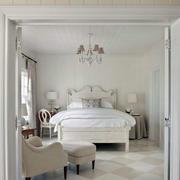 白色清纯卧室欣赏