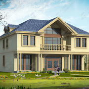 现代化的别墅展示