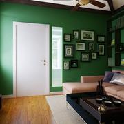 家居客厅照片墙展示
