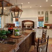 家居美式厨房图片