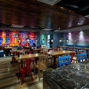 餐厅背景墙个性设计