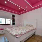 复式楼甜美小卧室