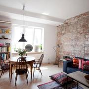 公寓小餐厅餐桌设计