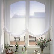 地中海窗帘图片
